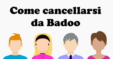 come cancellarsi da badoo